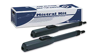 MISTRAL KIT PER CANCELLI A DUE ANTE BATTENTI 433 MHZ